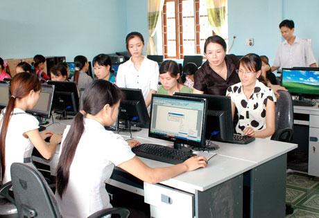 Ứng dụng tin học trong giảng dạy