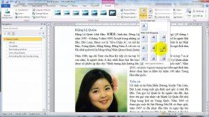 Chèn ảnh có sẵn trong máy tính