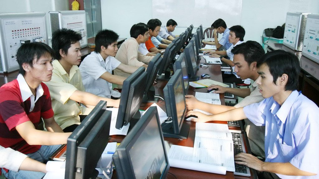 Sinh viên ngành Công nghệ thông tin được đào tạo rất bài bản