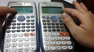 Các loại máy tính được mang vào phòng thi 2019